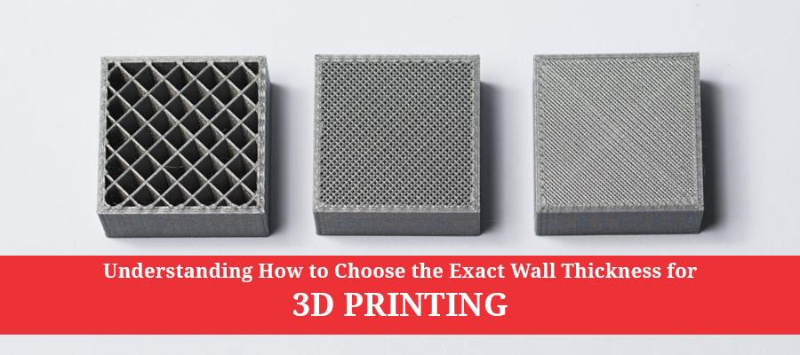 Wall thickness- metal 3d printing